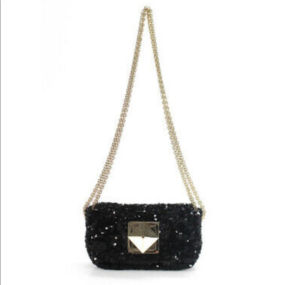 ab3e62f9f2 Sonia Rykiel Bags | Small Sequin Crossbody Handbag Purse | Poshmark